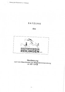 thumbnail of Satzung RV
